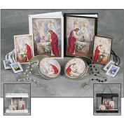 Girl's Blessed Sacrament First Communion Set