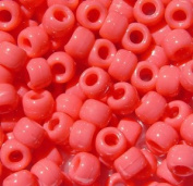 JOLLY STORE Crafts Opaque Coral 7x4mm Mini Pony Beads, 1000pcs