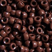 JOLLY STORE Crafts Opaque Brown 7x4mm Mini Pony Beads, 1000pcs