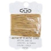 Gold Metallic Elastic Cords
