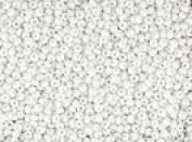 Seed Beads 11/0 Czech Opaque White (one hank pack) 35ml