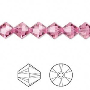 . Crystal 5328 8mm XILION Rose Bicones - 12 Pack