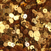 4mm FLAT SEQUINS ~ GOLD ~ Loose sequins for embroidery, applique, arts, crafts, and embellishment. Made in USA