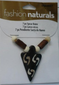 7 Pc Spear Bone Beads - Fashion Naturals #3484907