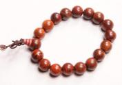 10mm Luos Tibetan Buddha Rosewood Mala Bracelet -W011
