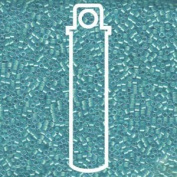 Mint Pearl Lined Ocean Blue (Db1708) Delica Myiuki 11/0 Seed Bead 7.2 Gramme Tube Approx 1400 Beads
