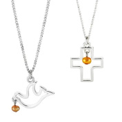 Noelle Wishes Freshwater Pearl Pendant - Dove