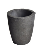 #3 4KG Foundry Clay Graphite Crucibles Cup Furnace Torch Melting Casting Refining Gold Silver Copper Brass Aluminium