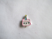 Floating Birthday Cake Charm