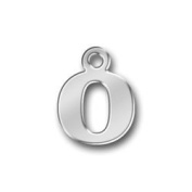 Pewter Initial Charm - Letter O