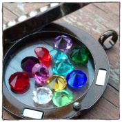 5mm Birthstone Charms Complete Set of 12 Fits Origami Owl