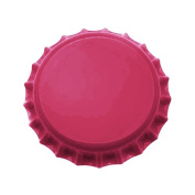 New Magenta Pink Crown Bottle Caps Craft Scrapbook Jewellery No Liners