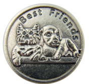 A Bond That Never Breaks Never Tears But Lasts Forever Dog Cat Pet Medal Pocket Token Coin
