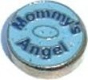 Mommy's Angel Floating Charm for Heart Lockets