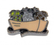 Noah's Arc Floating Locket Charm