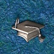 Hampshire Pewter - Graduation Cap Charm