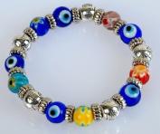 Murano Glass Evil Eye Bracelet