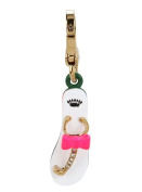 Juicy Couture Flip Flops with Pink Bow Charm Jewellery