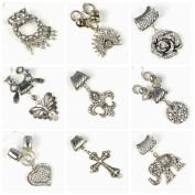 9 Different Pendant Set Per Lot,mixed Designs Charm Sets, Fashion Diy Scarf Jewellery Pendant Accessories