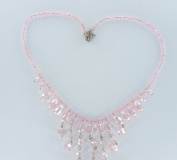 . Chandelier Crystal Necklace with Lobster Clasp and Extender, Fit 46cm - 50cm . Absolutely Gorgeous!