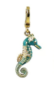 Juicy Couture Jewellery Seahorse Charm Gold New 2013