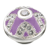 Kameleon Jewellery Lilac Crown Jewels JewelPop KJP253 *Authentic Sterling Silver