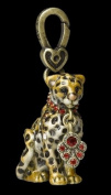 "Jay Strongwater Leopard Charm ""Mara"""