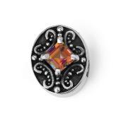 "Bonn Bons® By Lori Bonn ""Under My Spell"" Sterling Silver Twilight Topaz Slide Charms for Charm Bracelets"