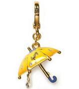Juicy Couture Yellow Umbrella Charm Jewellery