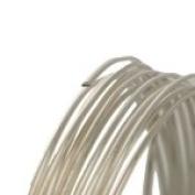 20 Gauge Round Half Hard Sterling Silver Wire 50 Ft.
