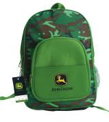 John Deere Child's Backpack, Camo Green