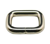 Generic Metal Silvery 2cm Inside Length Rectangle Buckle belt Buckle Handbag Buckle Luggage Accessories