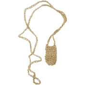 The New Age Source Hemp Crystal Pouch Natural Each