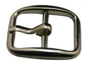 Generic Metal Silvery 1.8cm Inside Width Rectangle Buckle With A Slideable Bar For Belt Buckles Handbag Accessories