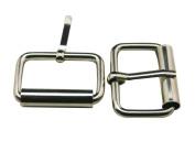 Generic Metal Silvery 2.5cm Inside Length Rectangle Buckle belt Buckle Handbag Buckle Luggage Accessories