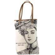 Santa Barbara Design Studio JKC Victorian-Styled Canvas Tote, Because I Said So