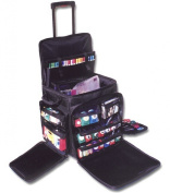 Crop In Style XXL Rolling Tote, Black