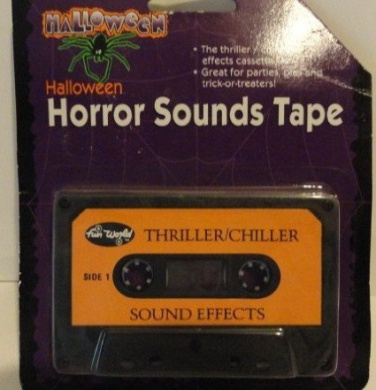 Halloween Horror Sounds Tape