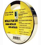 Metallic Tape Silver 1.3cm X 36yds