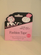 Hollywood FASHION TAPE Secret No. 1of37 Holds Your Clothing In Place 10 Clear Double-Stick Strips!