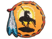 """DREAM CATCHER Navajo Native American Embroidered Iron On Motorcycle Patch 3""""/7.5m x 3""""/7.5cm By MNC Shop"""