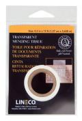 Lineco Transparent Mending Tissue 1.3cm . x 12 ft. roll