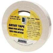 Art Alternatives Economy White Artists Tape - 2.5cm X 60 Yards