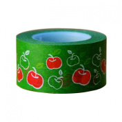 Ginko Papers Fun Tape, Apples Wide