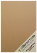 150 Sheets Brown Kraft Fibre 80 lb Cover Weight 10cm X 15cm Cardstock Paper Photo | Card Size by ThunderBolt Paper