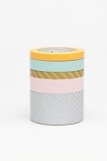 Japanese Washi Masking Tape -Set of 5 Multi Pattern Suite O