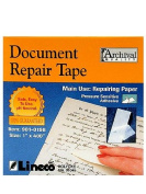 Lineco Document Repair Tape 2.5cm . x 35 ft. [PACK OF 2 ]