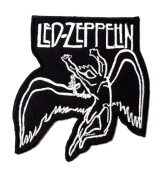 Led-Zeppelin patches 8.2x9 cm Iron on Patch / Embroidered Patch This Appliques Are Great for T-shirt, Hat, Jean ,Jacket, Backpacks.