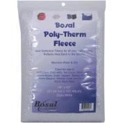 Poly-Therm Heat Reflective Fleece-Silver 160cm x 90cm