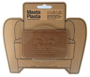 MastaPlasta Peel and Stick First-Aid Leather Repair Band-Aid for Furniture, Crown, 10cm by 6.1cm , Tan